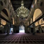 بعدسة إبراهيم سنجلاوي - من داخل المصلى القبلي الرئيسي