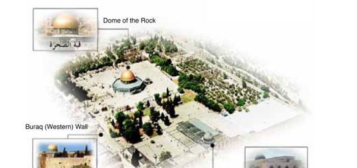 مواضع 3 معالم رئيسية في المسجد الأقصى