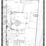 مخطط هندسي للمسجد الأقصى ومعالمه