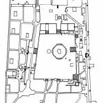 خريطة مفرغة للمسجد الأقصى المبارك (دليل المسجد الأقصى) (الاتجاه إلى الجنوب)