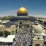 عشرات الآلاف يصلون في المسجد الأقصى في عيد الأضحى لعام 1436هـ - 2015م رغم تصاعد الاعتداءات والاقتحامات الصهيونية للمسجد المبارك خلال أشهر 8و9و10 من عام 2015