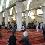 مصون داخل المبنى الرئيسي (القبلي) في المسجد الأقصى المبارك