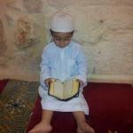 داخل مصلى من المصليات الكثيرة في المسجد الأقصى