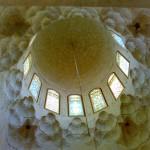 من داخل قبة الجاولية في المسجد الإبراهيمي