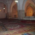 من داخل مصلى الجاولية في المسجد الإبراهيمي