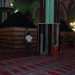 داخل المصلى الرئيسي في المسجد الإبراهيمي