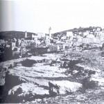 صورة قديمة للبلدة القديمة في الخليل