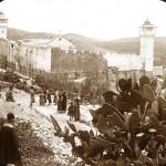 صورة قديمة للمسجد الإبراهيمي